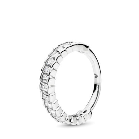 Glacial Beauty Ring, Clear CZ