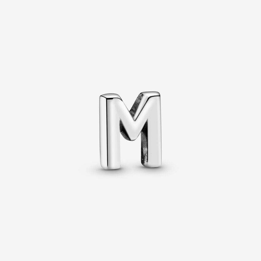 Letter M Alphabet Locket Element