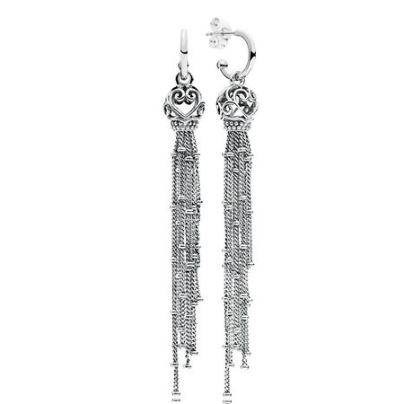 Enchanted Tassels Drop Earrings