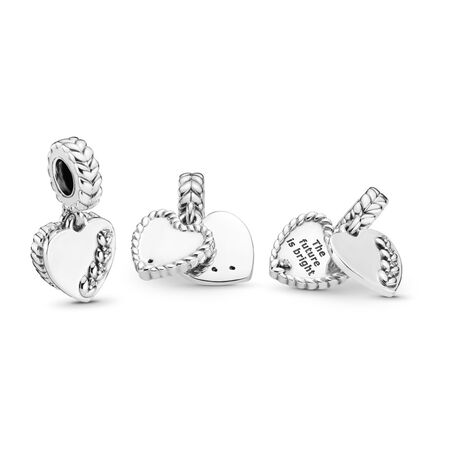 Bright Seeds Dangle Charm, Clear CZ