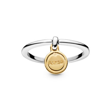 Medallion of Love Ring, PANDORA Shine™