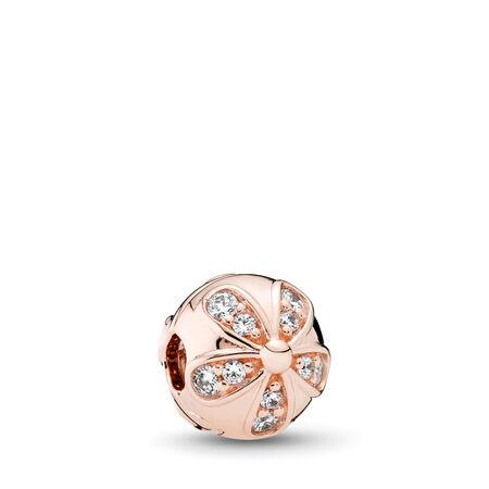 ce2606fdd Dazzling Daisies Clip, PANDORA Rose™ & Clear CZ PANDORA Rose, Cubic Zirconia