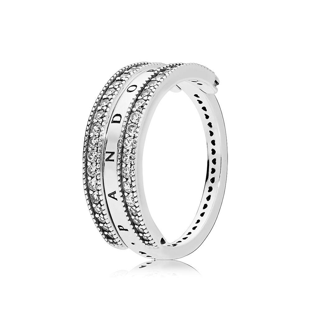Clear Zirconia Ring Pandora