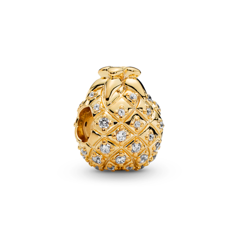 Sparkling Pineapple Charm