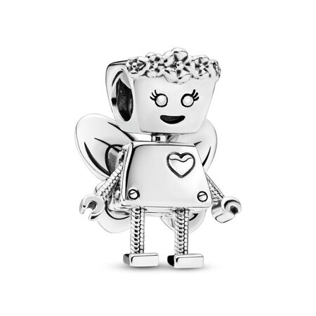 6827e5d44 Limited Edition Floral Bella Bot Charm, Sterling silver - PANDORA - #797856