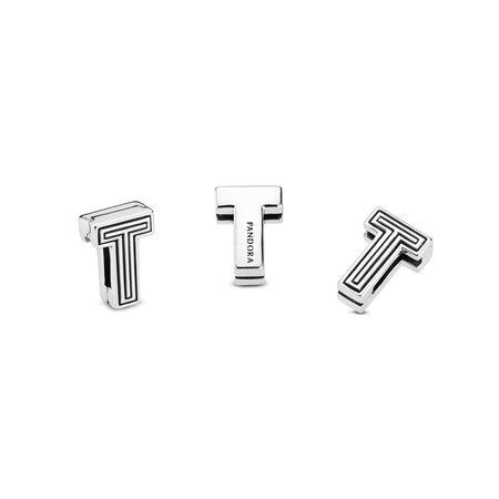 Pandora Reflexions™ Letter T Clip Charm