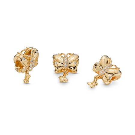 Decorative Butterfly Charm, Pandora Shine™