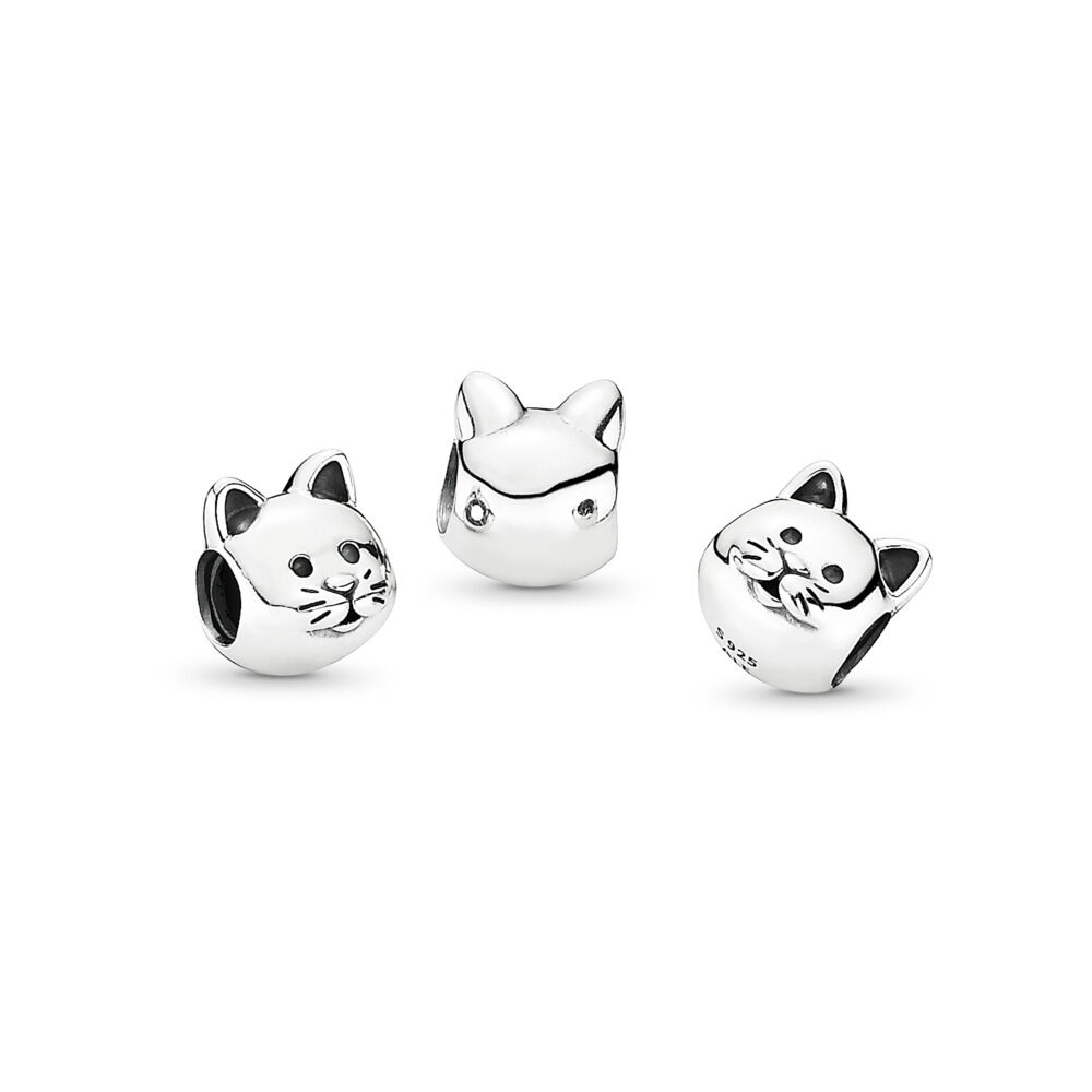 Curious Cat Charm Pandora Jewelry Us
