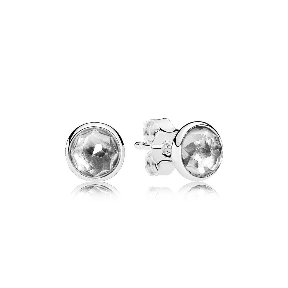 pandora april earrings