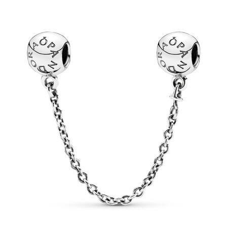 PANDORA Signature Safety Chain, Sterling silver - PANDORA - #791877-05