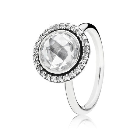 Brilliant Legacy Ring, Clear CZ