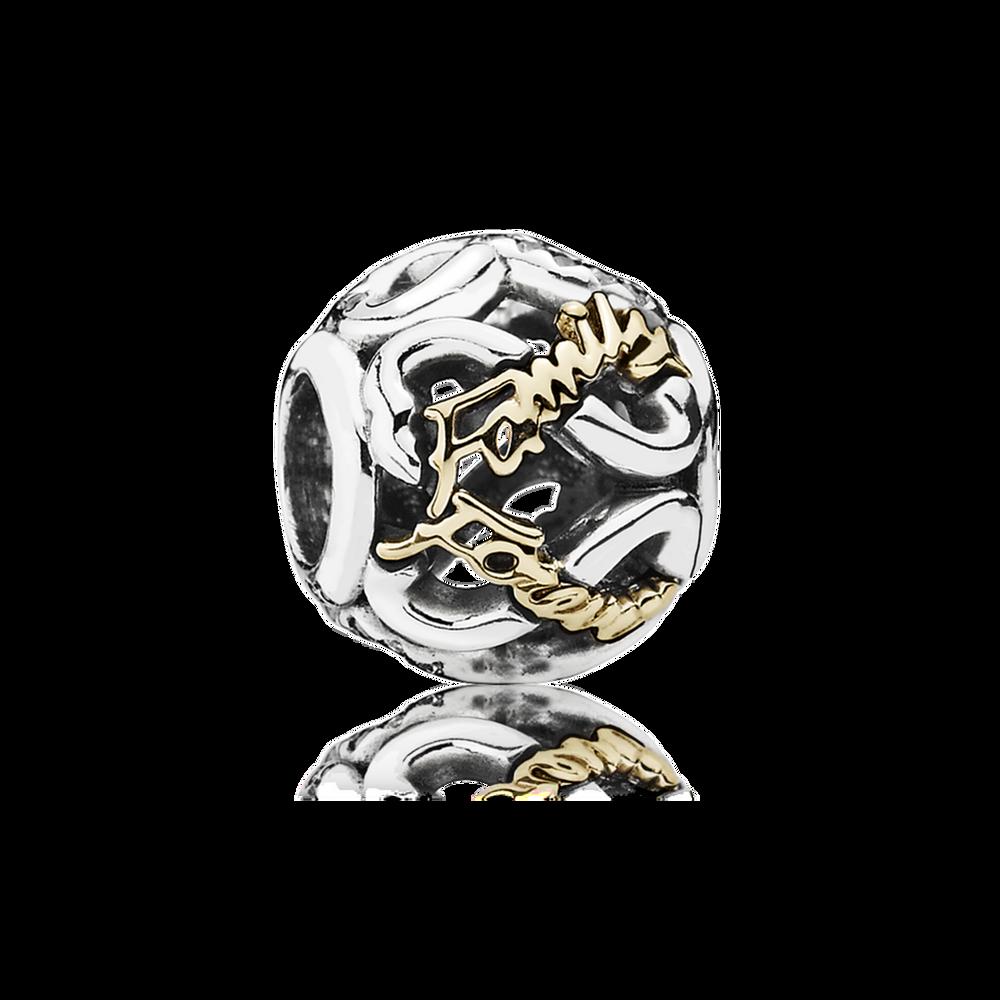 pandora charm silver women and dangle gold rhodolite infinity image