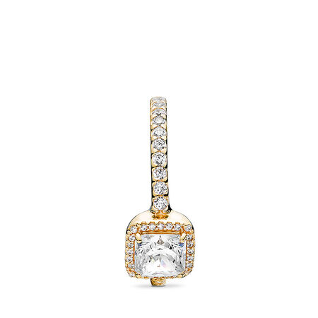 Timeless Elegance Ring, 14K Gold & Clear CZ