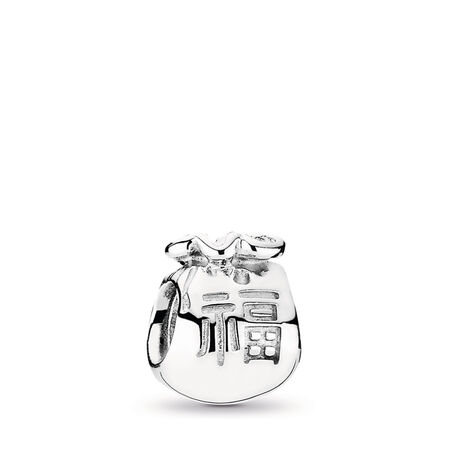 Money Bags Charm, Sterling silver - PANDORA - #790990