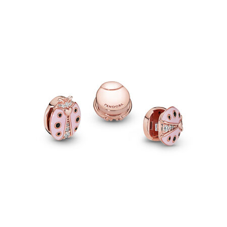 Pandora Reflexions™ Pink Ladybird Clip Charm