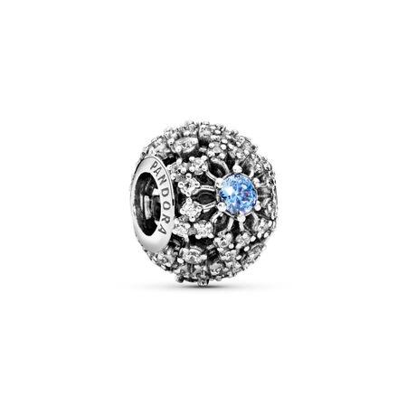 Disney, Cinderella's Wish Charm, Frosty Mint CZ, Sterling silver, Cubic Zirconia - PANDORA - #791592CFL
