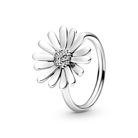 Pavé Daisy Flower Statement Ring - FINAL SALE