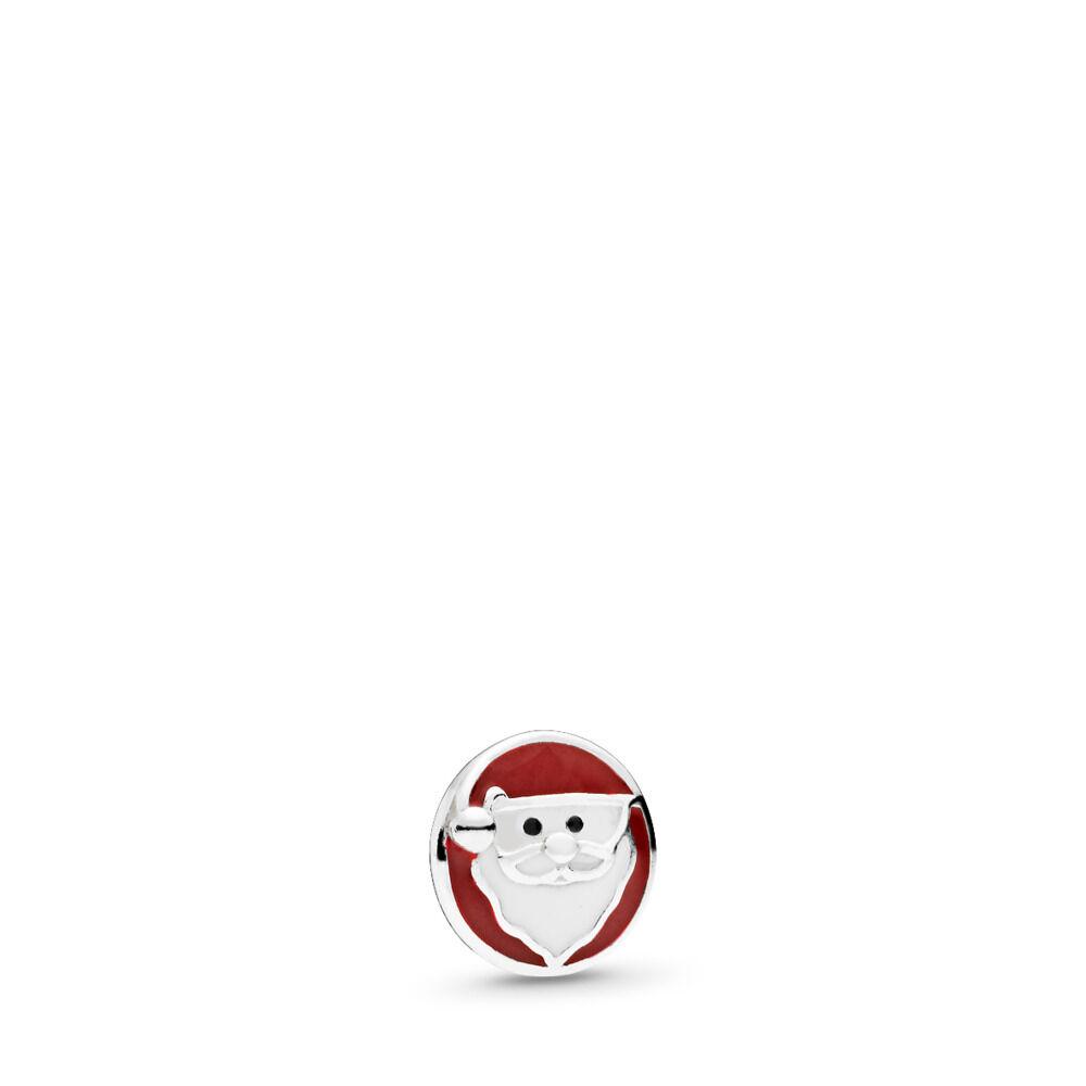 c3fb9af6f Jolly Santa Petite Locket Charm, Mixed Enamel