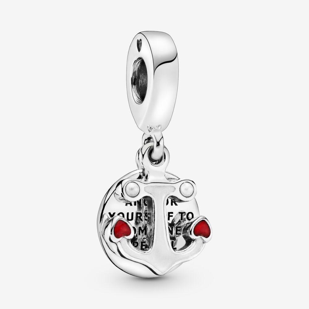 Anchor & Hearts Dangle Charm
