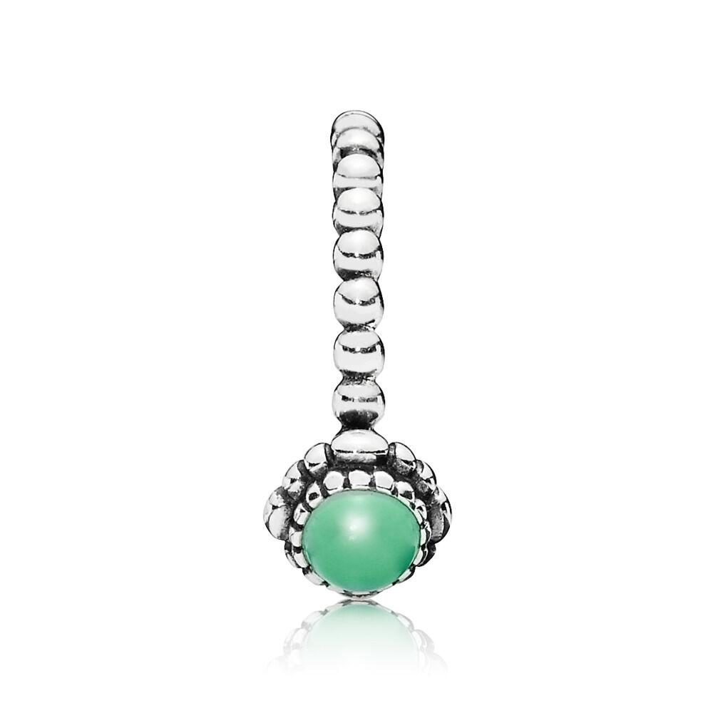 64911bdba Birthday Blooms Ring, May, Chrysoprase, Sterling silver, Turquoise,  Chrysoprase - PANDORA