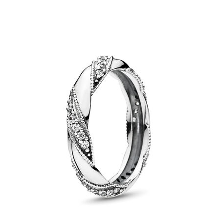 Dreams of Love Ring, Clear CZ, Sterling silver, Cubic Zirconia - PANDORA - #190981CZ