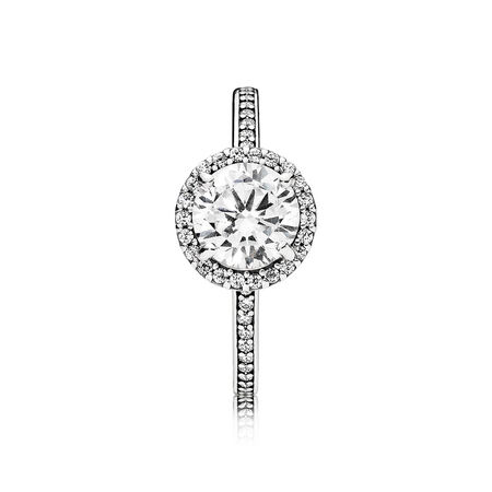 Classic Elegance Ring, Clear CZ