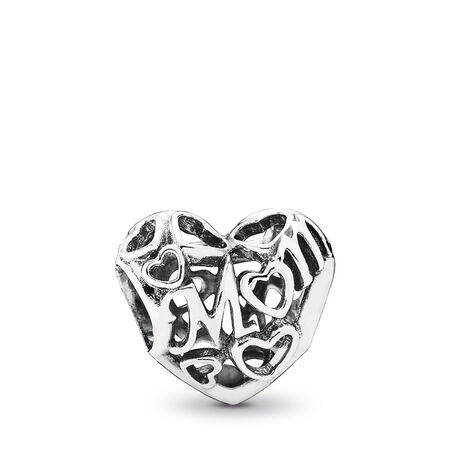 Motherly Love Charm, Sterling silver - PANDORA - #791519