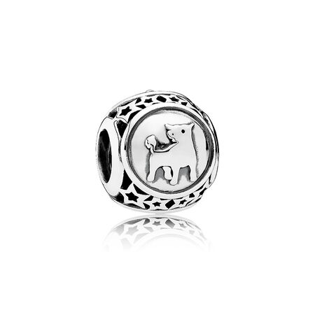 Taurus Star Sign Charm, Sterling silver - PANDORA - #791937