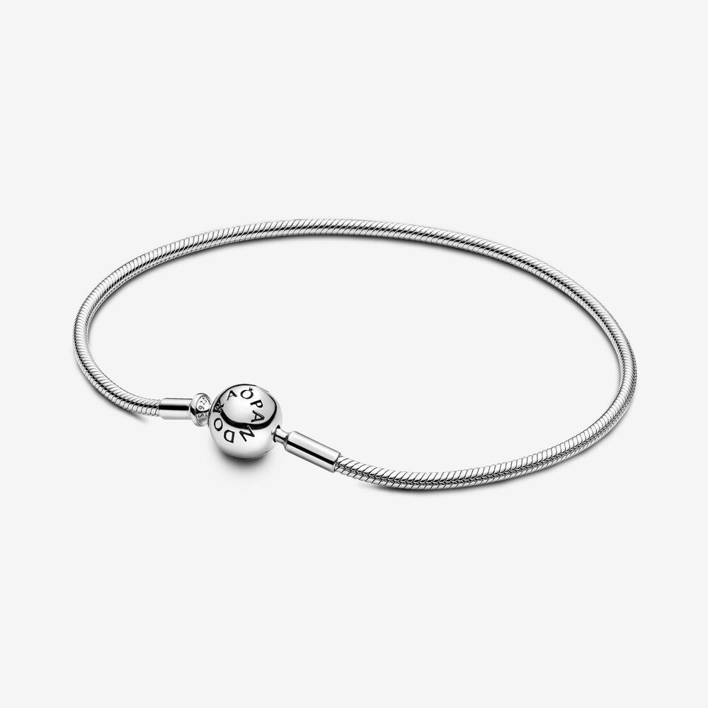 Pandora Me Slender Snake Chain Bracelet Sterling Silver Pandora Us