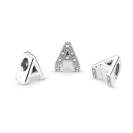 Letter A Charm