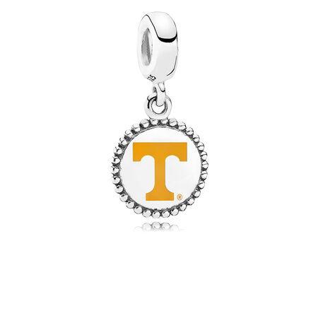 c49b578ce University of Tennessee Knoxville Dangle Charm, Orange Enamel Sterling  Silver, Orange