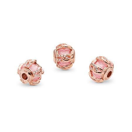 ab7ab1ef8 BONDS OF LOVE, PANDORA Rose™, Blush Pink Crystal & Clear CZ