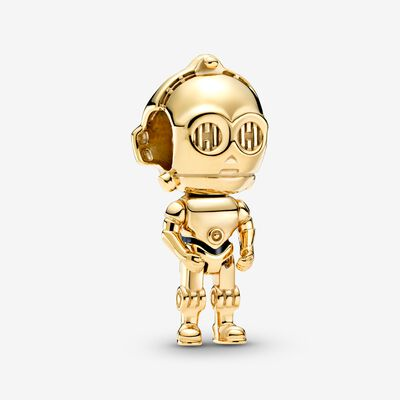 Star Wars C-3PO Charm , Gold