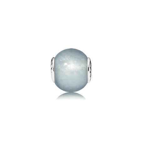 LOYALTY Charm, Aquamarine