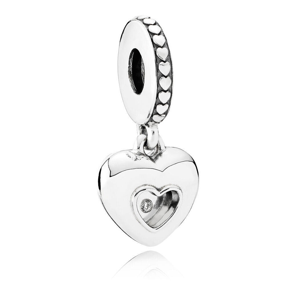 tw en diamond two h pandora rings on wedding charms pillow silver charm