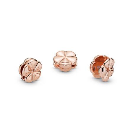 Pandora Reflexions™ Classic Flower Clip Charm, Pandora Rose™