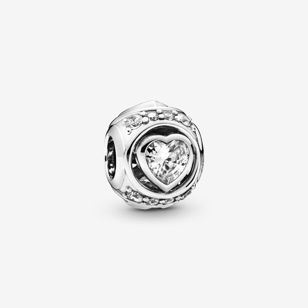 Elevated Heart Charm