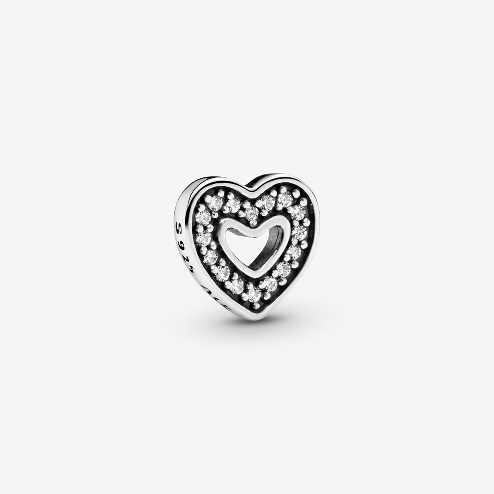 Sparkling Heart Locket Element