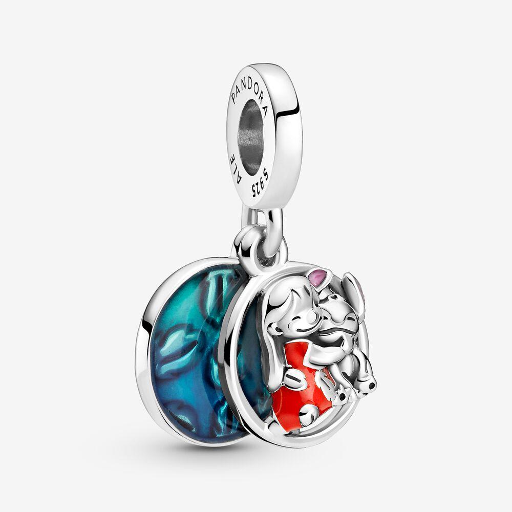 Disney Lilo & Stitch Family Dangle Charm | Sterling silver ...