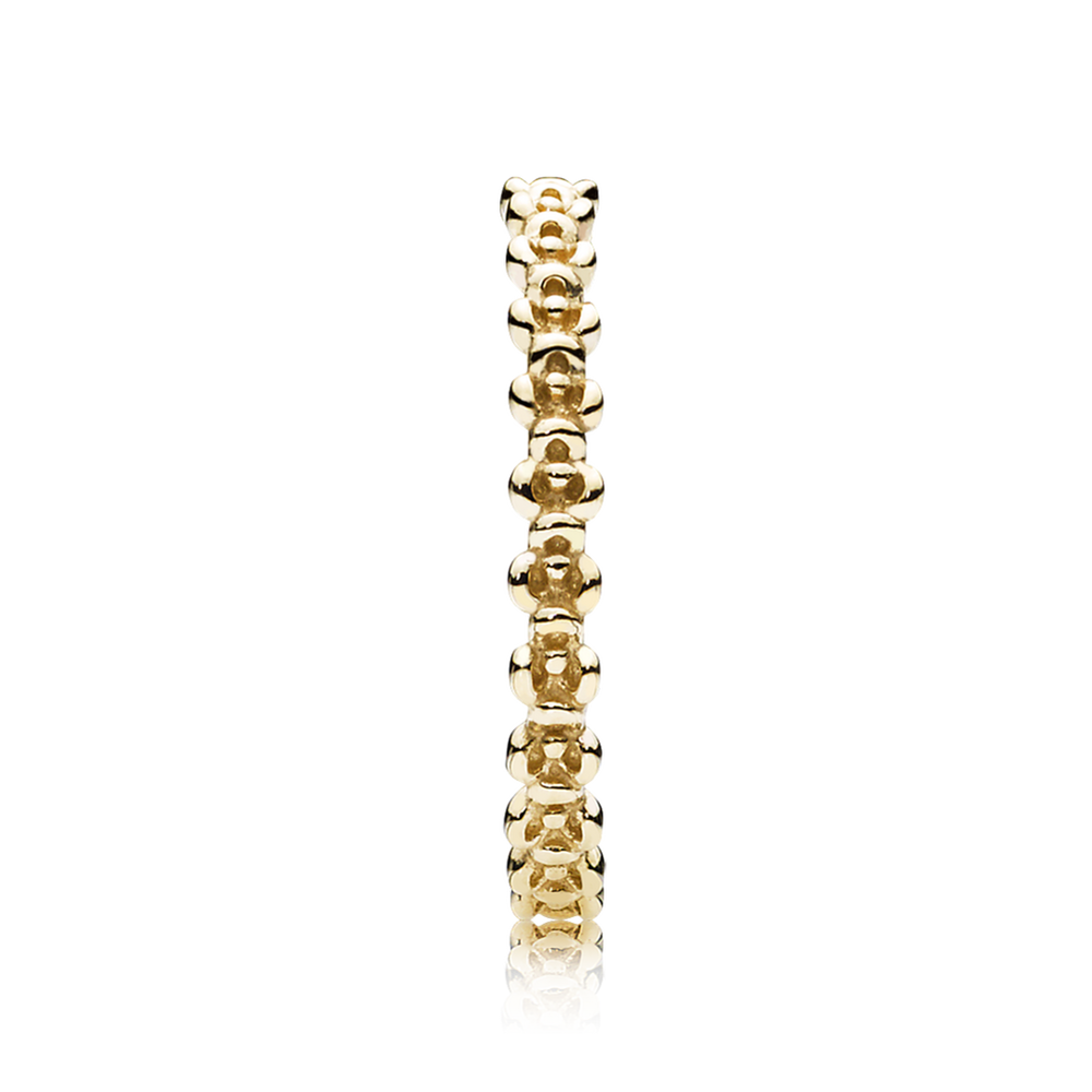 pandora stacked rings gold