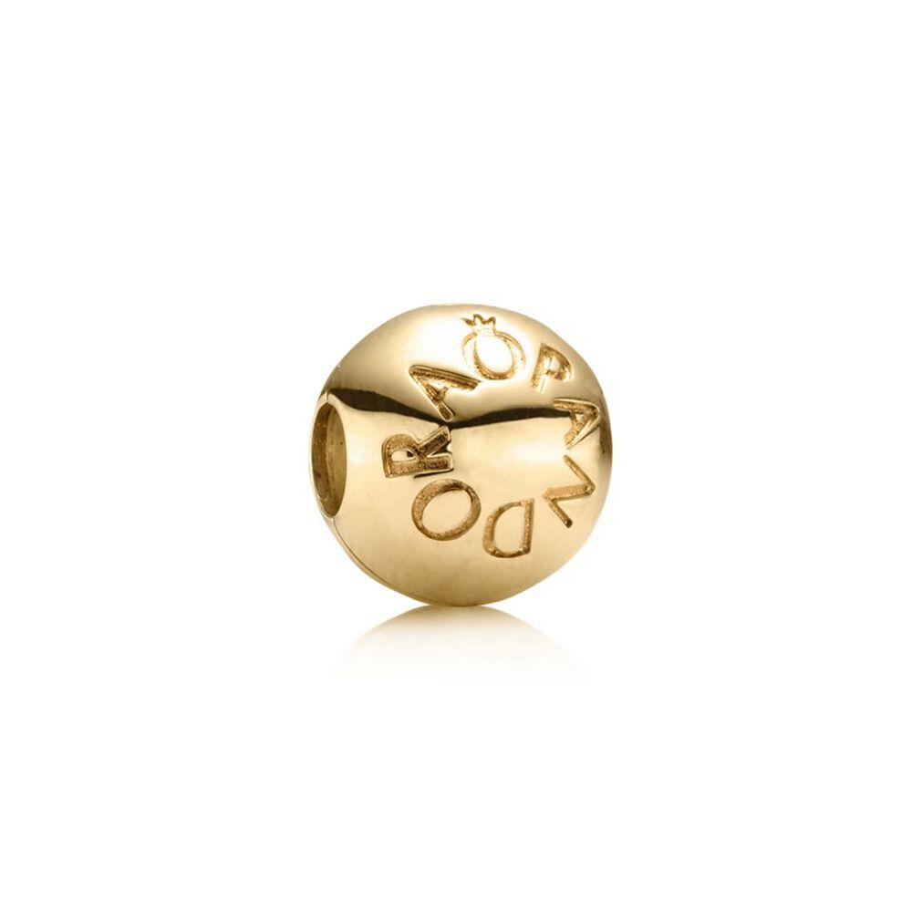 Pandora Clip On Earrings: Loving PANDORA Clip, 14K Gold