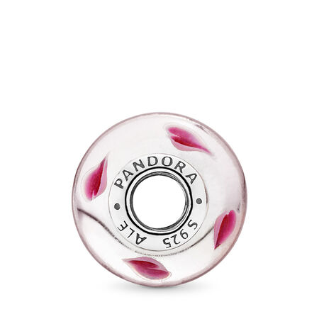 Wild Hearts Charm, Murano Glass