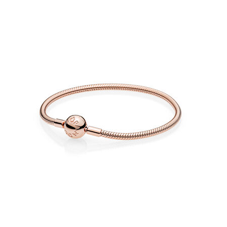Smooth PANDORA Rose™ Clasp Bracelet