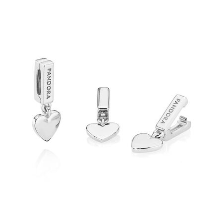 PANDORA Reflexions™ Floating Heart Clip Charm