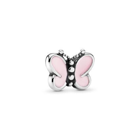 Pink Butterflies Petite Charm