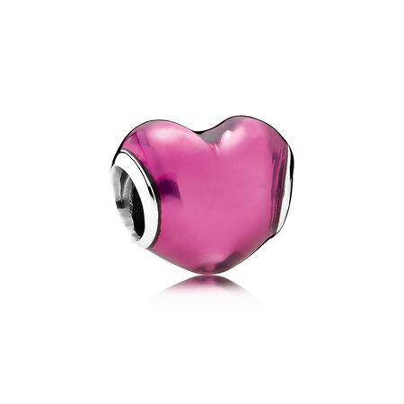 In My Heart Charm, Violet Enamel