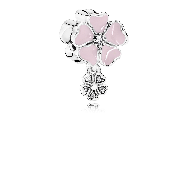 charm pandora circonita rosa