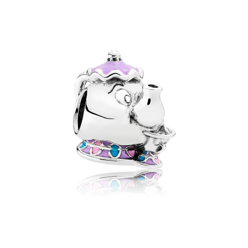 Disney Mrs Potts Amp Chip Charm Mixed Enamel Pandora