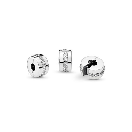 Shining Path, Clear CZ, Sterling silver, Cubic Zirconia - PANDORA - #791972CZ