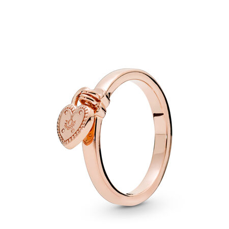 Love Lock Ring, Pandora Rose™